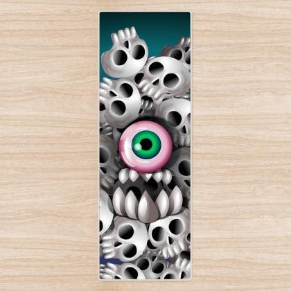 Monster Skull Yoga Mat