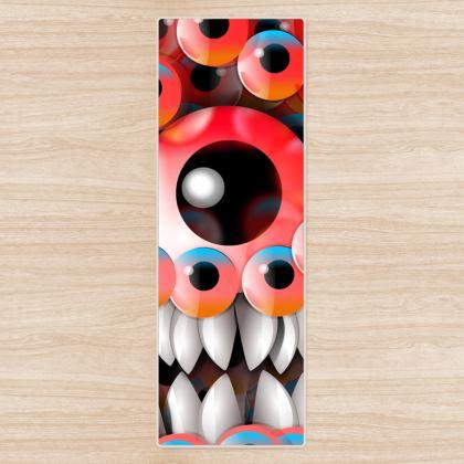 Monster eyes Yoga Mat