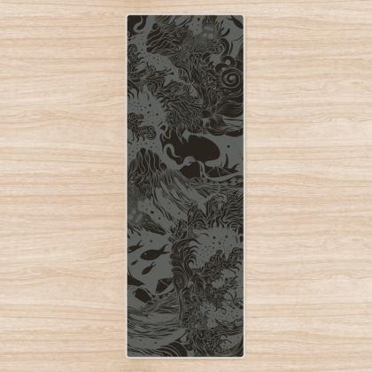 Dark Ocean Yoga Mat
