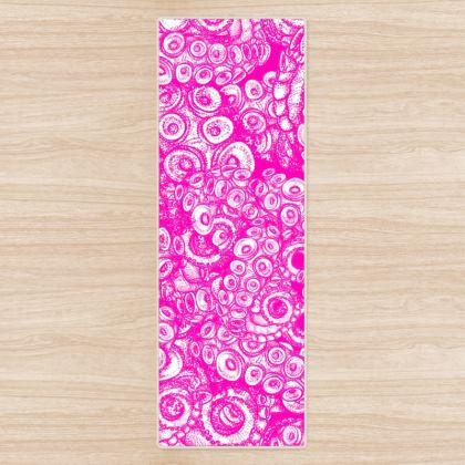 Tentacles Pink Yoga Mat