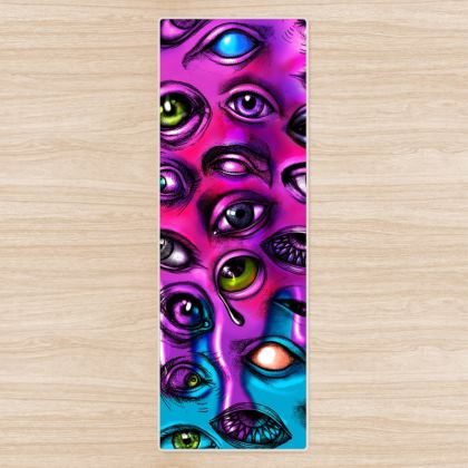 Eyes Yoga Mat