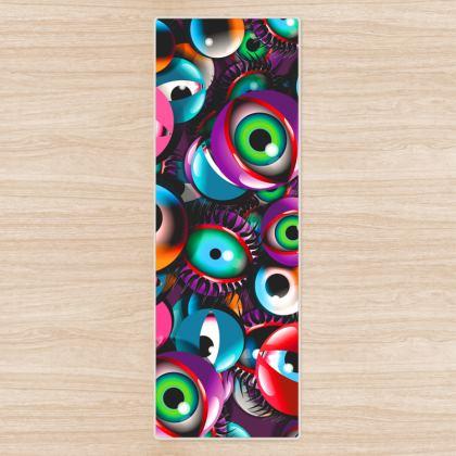 EyeBalls Yoga Mat