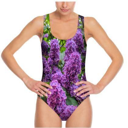 Lilac Swimsuit by Alison Gargett