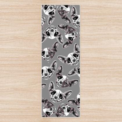 Sphynx Skull Yoga Mat