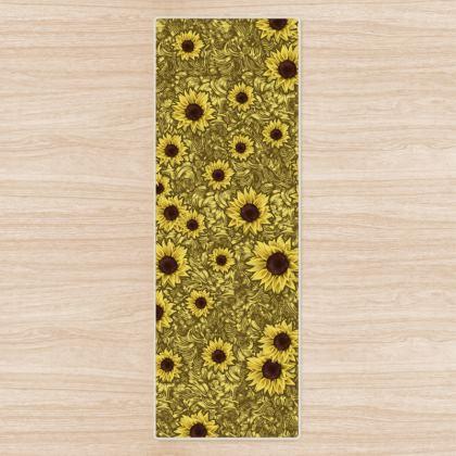 Sun Flowers Yoga Mat