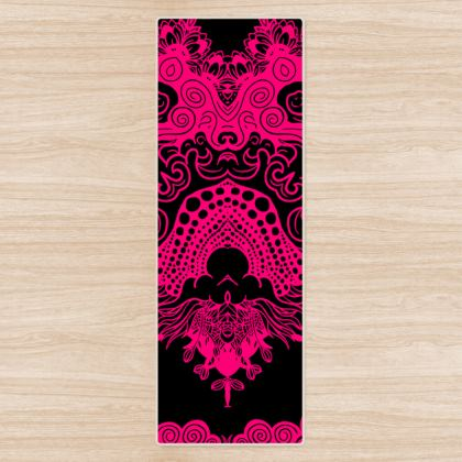 Pink Mirror Yoga Mat