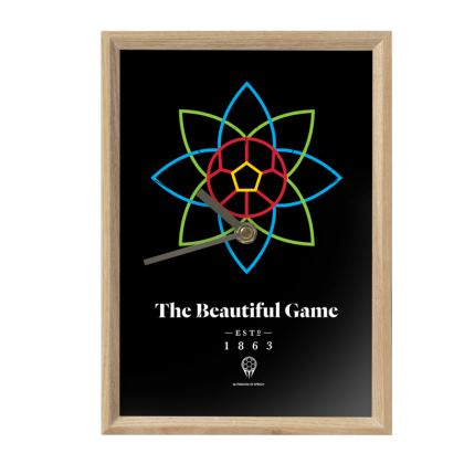 THE BEAUTIFUL GAME MANTLE CLOCK