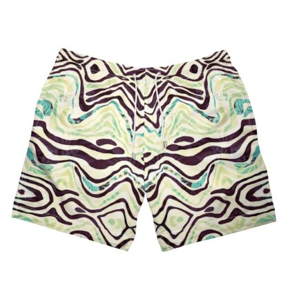 Surf the Waves Swim Shorts
