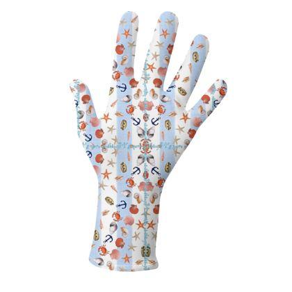 schützende Pandemie Stoffhandschuhe für die behandschuhte Dame, 2 Modelle
