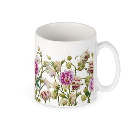 Ceramic Mug - Aquilegia