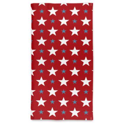 Stars of America Neck Tube Scarf