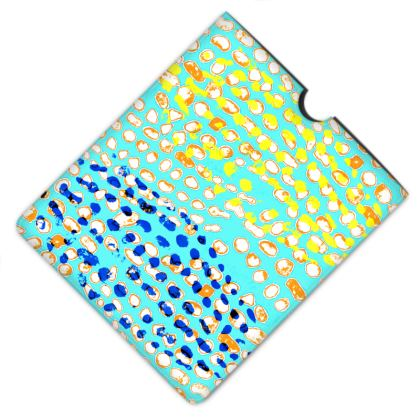 Textural Collection multicolored Leather IPad Case