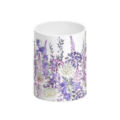Garden of Wonder Tall Bone China Mug