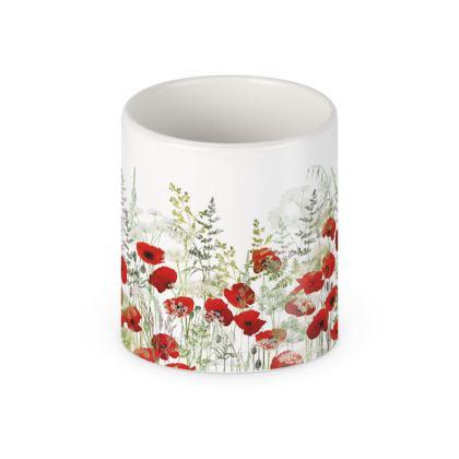 Poppy Field Ceramic Mug