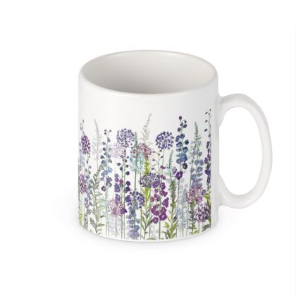 Ceramic Mug - Purple Rapture