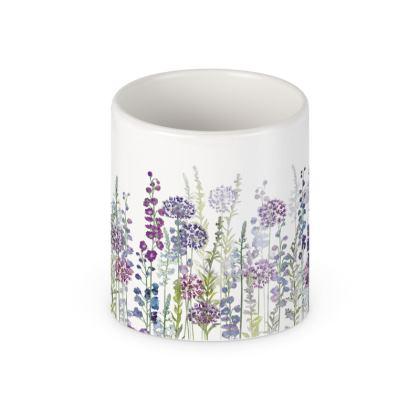 Purple Rapture Ceramic Mug