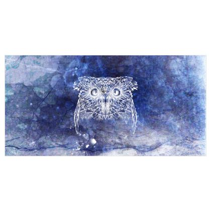Owl Xray Voile Curtains