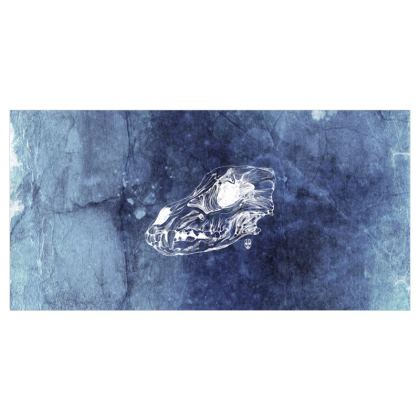 Wolf Skull XRAY Voile Curtains