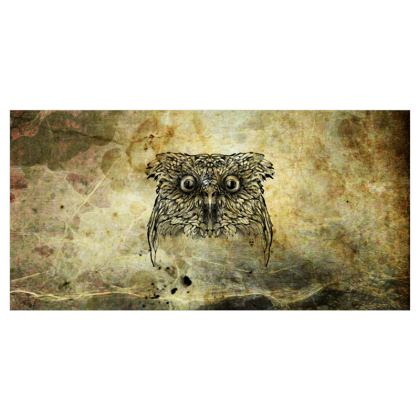 Owl Voile Curtains