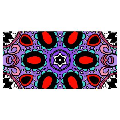 Kaleidoscope 1 Voile Curtains