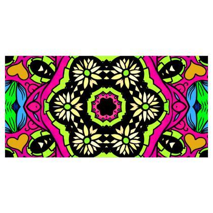 Kaleidoscope 2 Voile Curtains