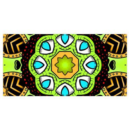 Kaleidoscope 3 Voile Curtains