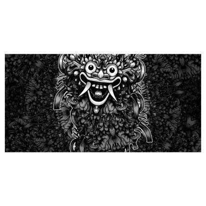 Bali Mask Voile Curtains