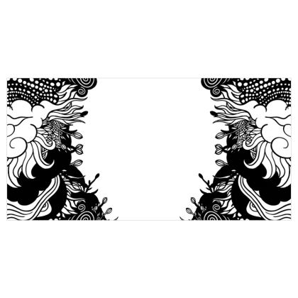 Floral Voile Curtains