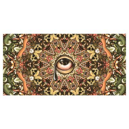 Mandala Eye Voile Curtains
