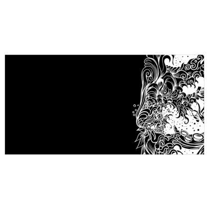 Black Wave Voile Curtains