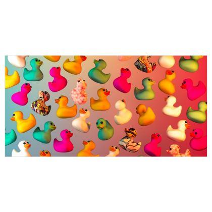 Rubber Ducks Voile Curtains