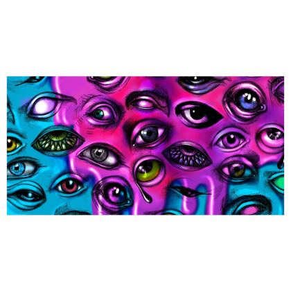 Eyes Voile Curtains