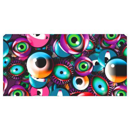 Eye Balls Voile Curtains
