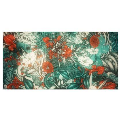 Mix 6 Blue Voile Curtains