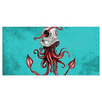 Squid and Helmet Voile Curtains