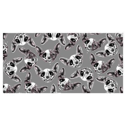 Sphynx Skull Voile Curtains