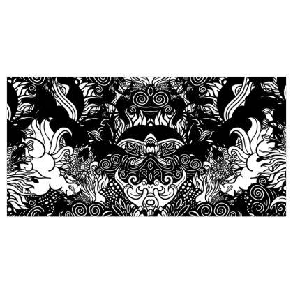 Floral Symmetry Curtains