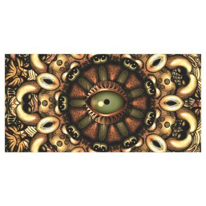 Mandala Eye 1 Curtains