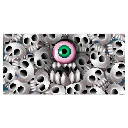 Skull Monster Curtains