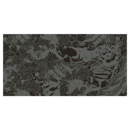 Dark Ocean Curtains