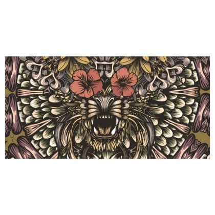 Floral Tiger Curtains