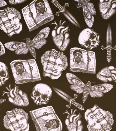 Stuff Pattern Swimming Shorts