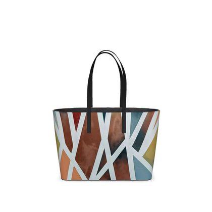 Union, Leather, Kika Tote Bag by Alison Gargett