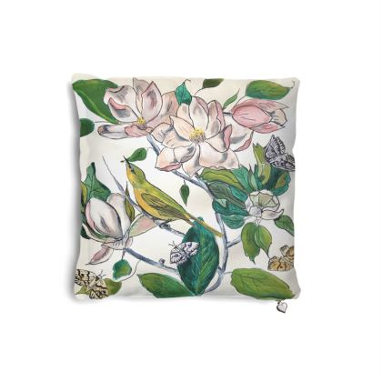 Designer Pillow Set Magnolia Design