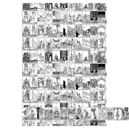 Rider Waite Tarot Deck Slip Dress