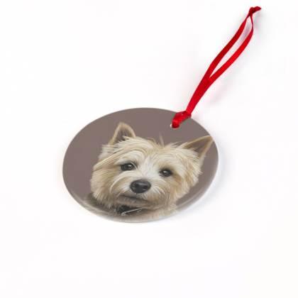 - Cairn Terrier Christmas Ornaments