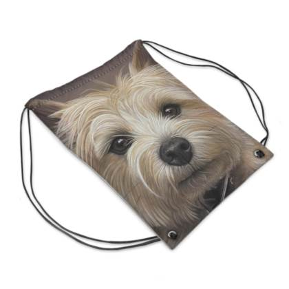Cairn Terrier Drawstring PE Bag