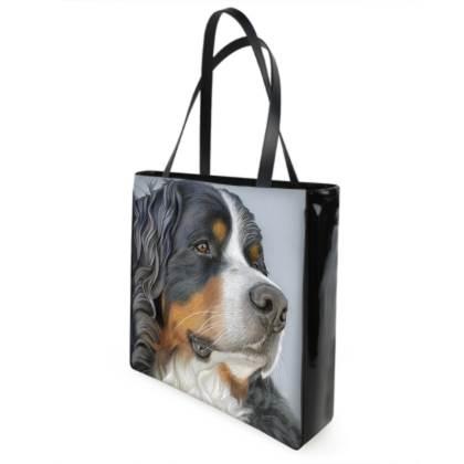 Bernese Mountain Dog Shopping Bag - Regal