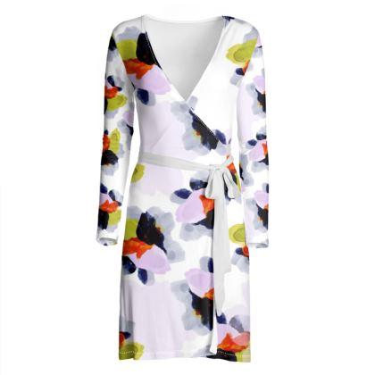 OSHO Wrap Dress - Poppy