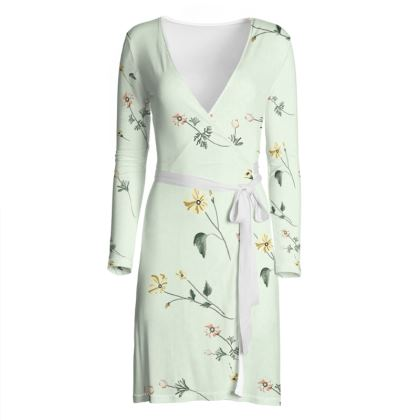 OSHO Wrap Dress - Spring